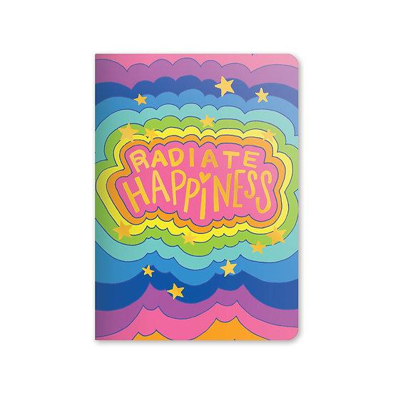 Radiate Happiness Jot-It Notebook
