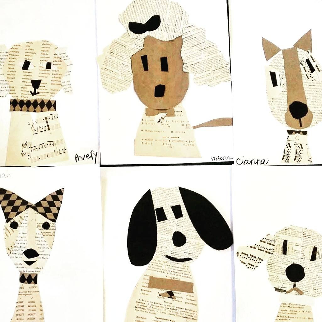 Dog Days of Summer Art Camp
