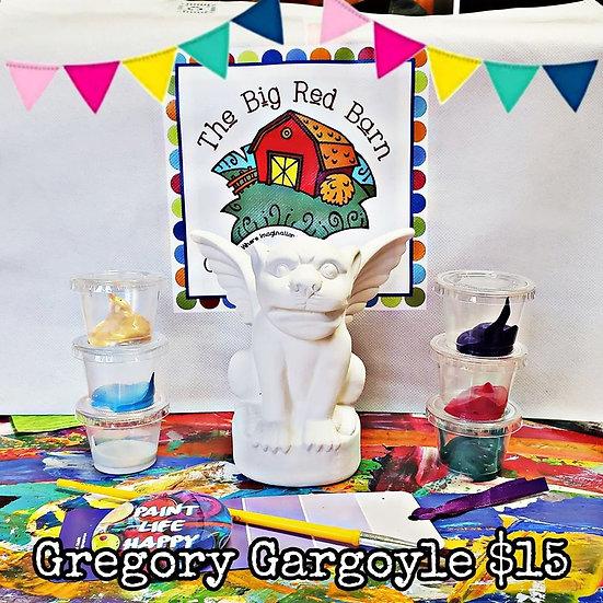 Notre Dame's Gregory Gargoyle Ceramic Art Kit