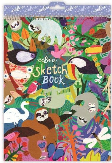 eeBoo Jungle Sketchbook