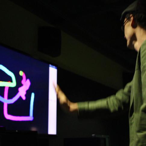 Microsoft Kinect Drawing