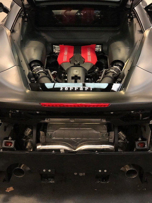Ferrari 488 GTB (Inconel) - Rear Section