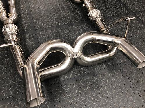 Lamborghini Aventador SVJ LP770 Inconel - Rear X pipe