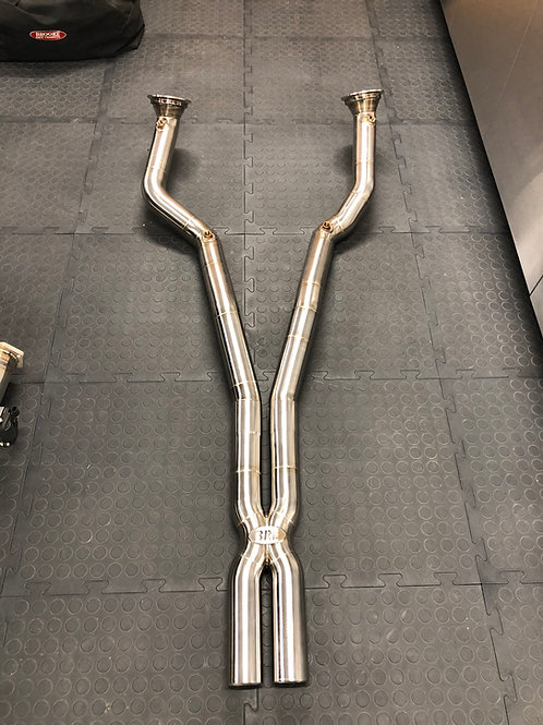 Ferrari 812 Superfast (Inconel)- Downpipes DECAT or SPORTS CAT & X pipe