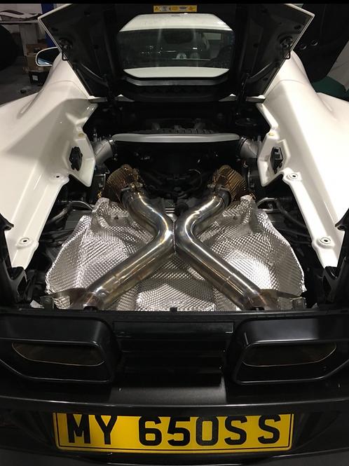 McLaren 650s (Inconel) - Rear X pipe