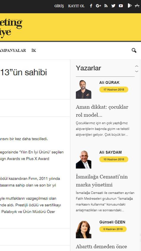 Marketing Turkey Online