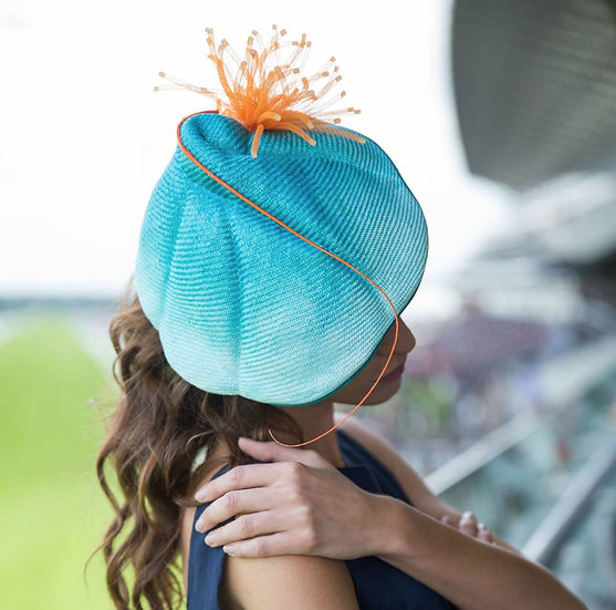 Turquoise shell headpiece