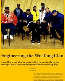 Engineering the Wu-Tang Clan