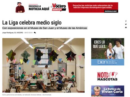La Liga celebra medio siglo con exposiciones en el Museo de San Juan y el Museo de las Américas