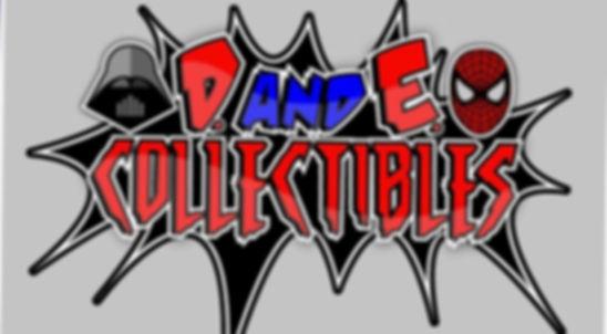 D and E Collectibles logo
