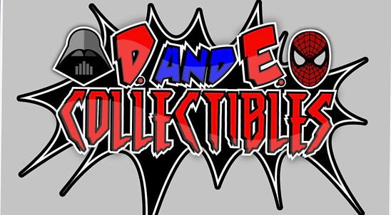 D and E Collectibles logo