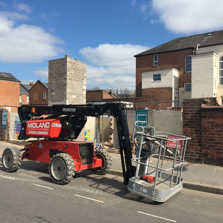 12m machine hire in leamington spar