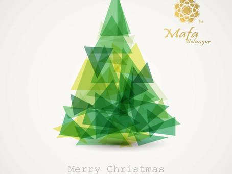 馬妃雪蘭祝大家聖誕節快樂!