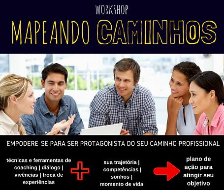 my coaching workshop mapeando caminhos planejamento profissional e carreira