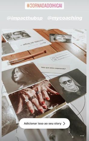 workshop jornada do ikigai stories