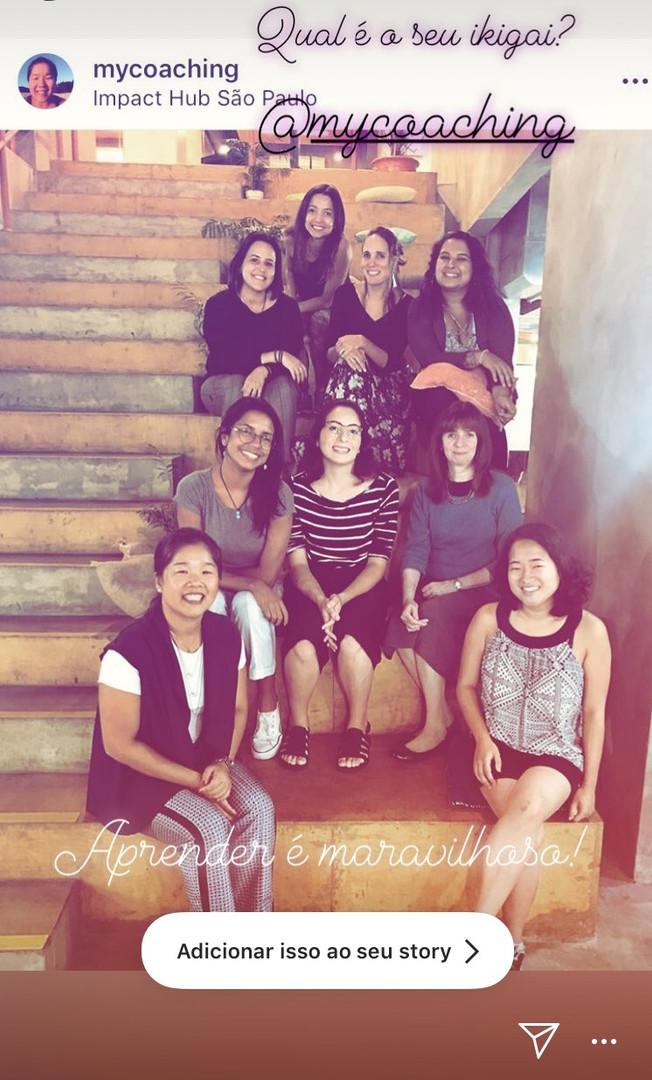 workshop jornada do ikigai instagram