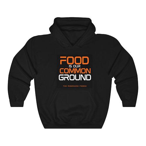 Rideshare Foodie Black/Orange Pullover