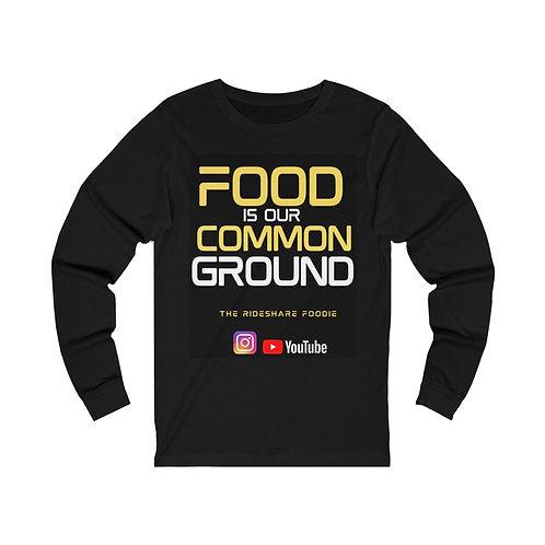 Rideshare Foodie Black/Yellow Long Sleeve