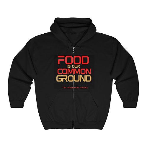 Rideshare Foodie Olympic Full Zip Hoodie