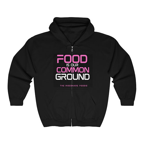 Rideshare Foodie Pink Hoodie (Unisex)