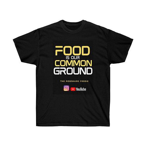 Rideshare Foodie Black/Yellow T-shirt