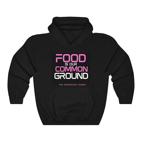 Rideshare Foodie Pink/Black Pullover Hoodie