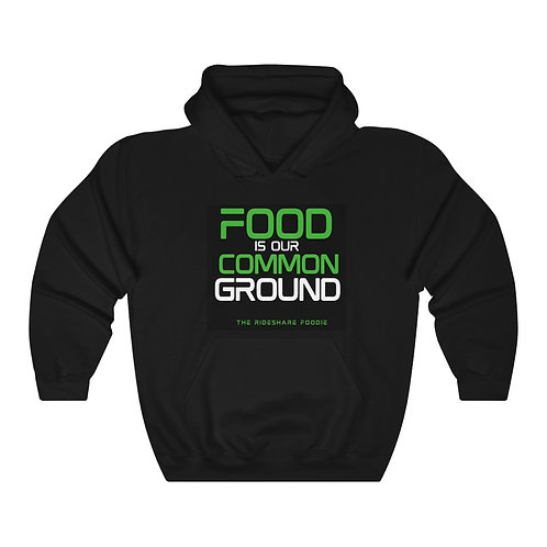 Rideshare Foodie Black/Green Pullover