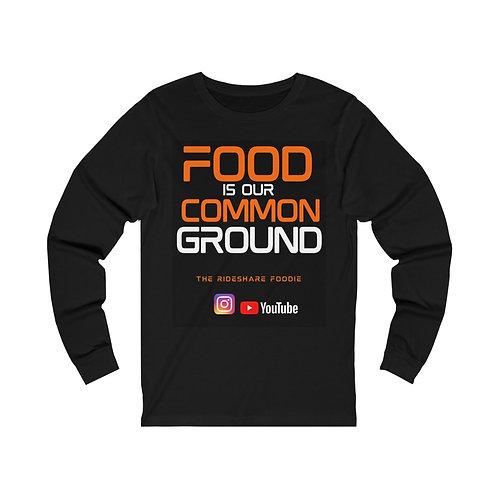Rideshare Foodie Orange/Black Long Sleeve