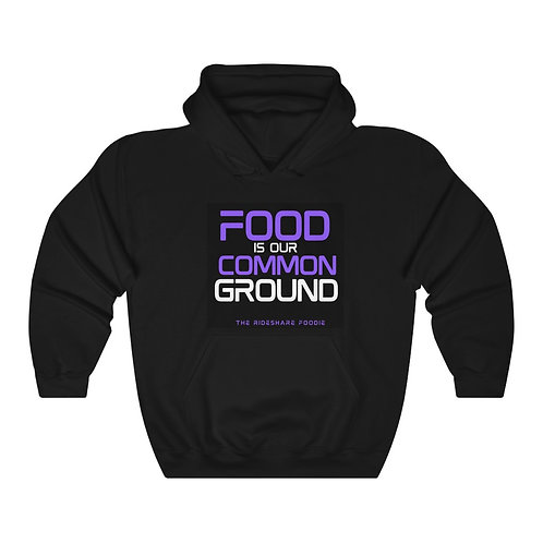 Rideshare Foodie Black/Royalty Pullover