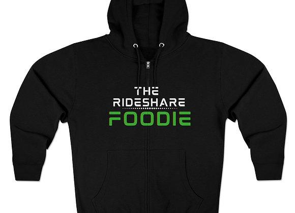 Rideshare Foodie Full Zip Hoodie Black/Green