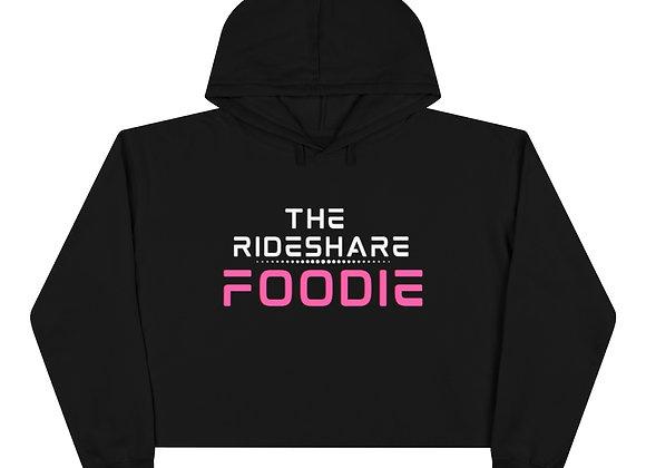 Rideshare Foodie Crop Hoodie (Women's)