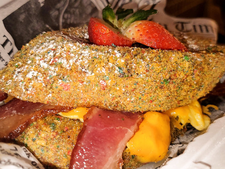 Cap'n Crunch French Toast Sandwich?