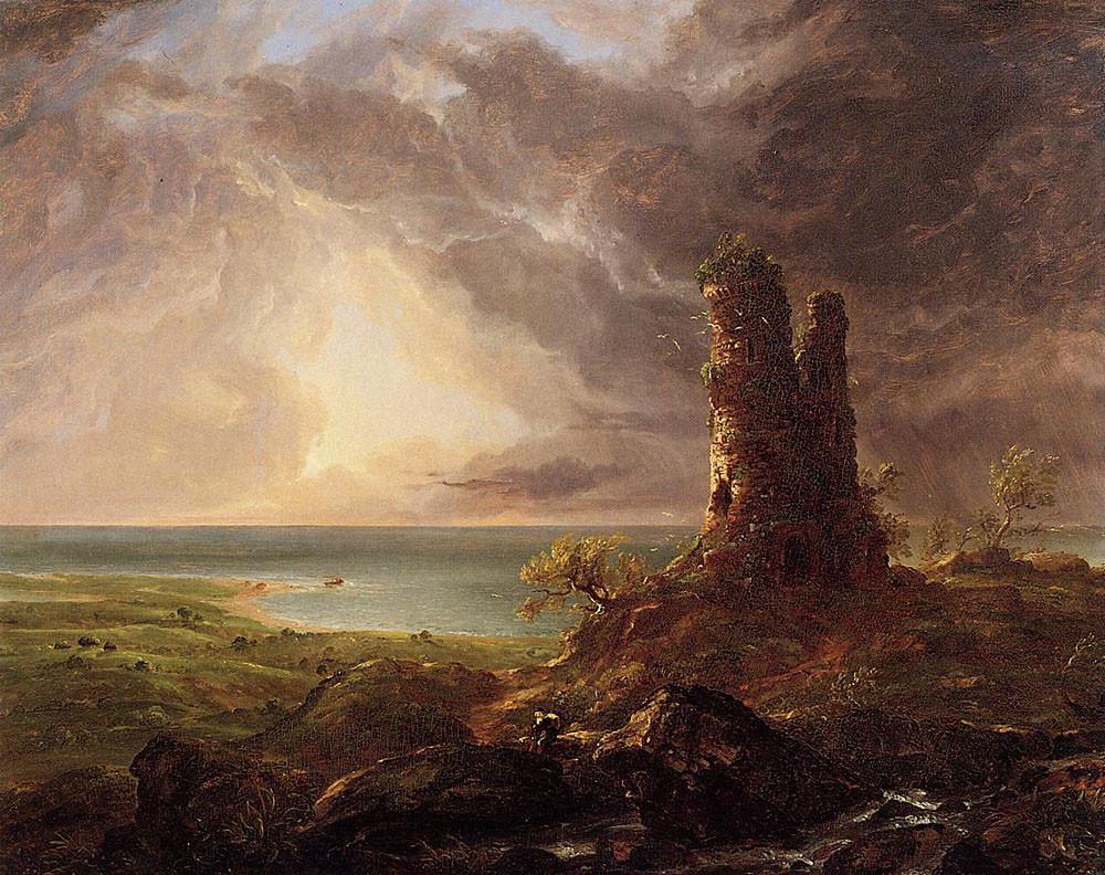 Imagem em domínio público. Fonte: The Athenaeum, Albany Institute of History and Art