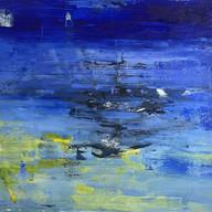"""Untitled 03"" 2020, Uzès, Oil on Linen, 110 x 160 cm, 44 x 64 in."