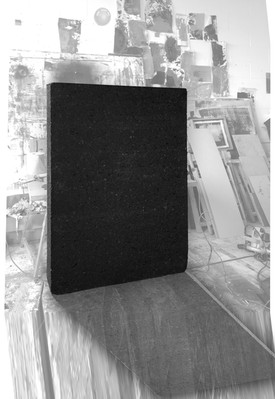 """AL"" Solid dark cork board"