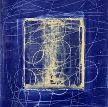 """Virtuose 11"" 2018, London, oil on paper, 18.5 X 15.2 in, 46 X 38 cm."