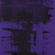 """""""Thème, variations et résonances 02_2017"""" London, oil paint on linen mounted on wood, 60 X 42 in, 150 X 103 cm."""