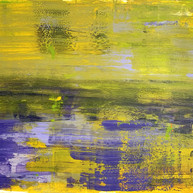 """Untitled 01"" 2020, Uzès, Oil on Linen, 110 x 160 cm, 44 x 64 in."