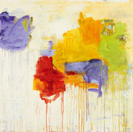 """Variations _ 02_2016"" Suzon, 2016, oil paint on linen, 88 X 60 in, 220 X 150 cm."
