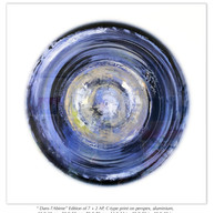 """ Dans l'Abime"" Edition of 7 + 2 AP, C-type print on perspex, aluminium,  35 X 35 cm, 50 X 50 cm, 75 X 75 cm, 14 X 14 in, 20 X 20 in, 30 X 30 in."