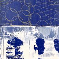"""Virtuose 04"" 2018, London, oil on paper, 18.5 X 15.2 in, 46 X 38 cm."