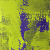 """""""Thème, variations et résonances 10_2017"""" London, oil paint on Linen, mounted on wood, 56 X 46 in, 140 X 115 cm."""