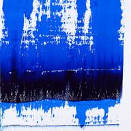 """""""Thème, variations et résonances 01_2017"""" London, oil paint on linen mounted on wood, 60 X 43 in, 150 X 107 cm."""