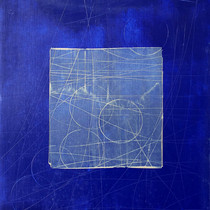 """Virtuose 05"" 2018, London, oil on paper, 18.5 X 15.2 in, 46 X 38 cm."