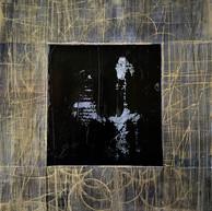 """Virtuose 23"" 2018, London, oil on paper, 18.5 X 15.2 in, 46 X 38 cm."