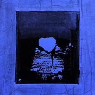 """""""Fin d'été 08"""" 2018, London, oil paint on paper, 16.1,2 X 12.1,4 in, 41 X 33 cm."""