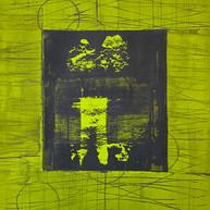 """Virtuose 15"" 2018, London, oil on paper, 18.5 X 15.2 in, 46 X 38 cm."