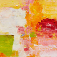 """"""" Courants d'eau, torrents, cascades """" 2015, Suzon, oil paint on wood, (Diptych) 48 X 72 in, 120 X 180 cm."""