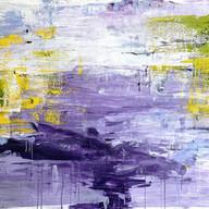 """Untitled 07"" 2020, Uzès, Oil on Linen, 110 x 160 cm, 44 x 64 in."