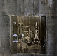 """""""Sans titre # 10"""" 2019, London, oil paint on paper """"Figueras"""", 25,1.2 X 19,3.4 in, 65 X 50 cm."""